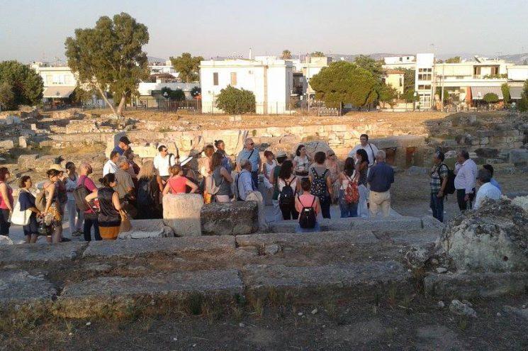 Επίσκεψη των επαγγελματιών του τουρισμού στην Ελευσίνα