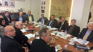 Συνάντηση εργασίας με τον Τομέα Τουρισμού της ΝΔ