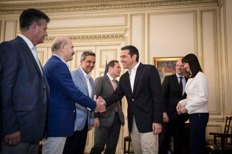 Συνάντηση ΣΕΤΕ με τον Πρωθυπουργό Αλέξη Τσίπρα
