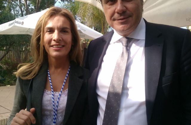 With PresidentRafael Gallego Nadal