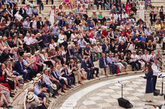 Σε πανηγυρικό κλίμα στο Ηρώδειο η τελετή έναρξης του συνεδρίου της ASTA στην Αθήνα