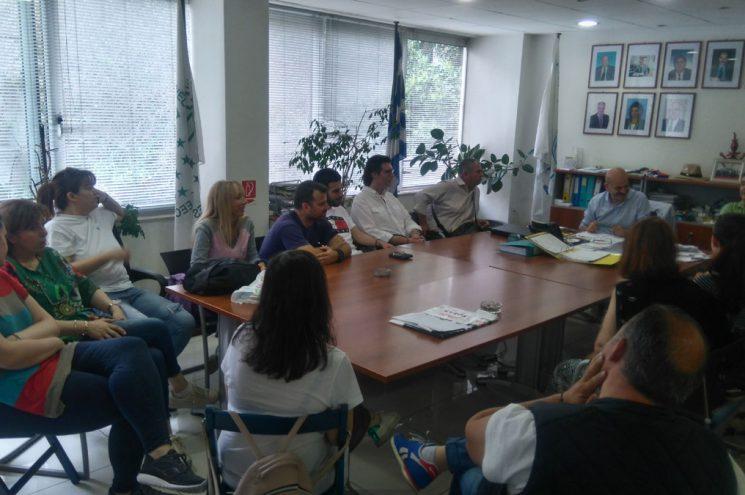 Εκπαιδευτική συνάντηση με σπουδαστές του ΙΕΚ Ακαδημίας Πλάτωνος