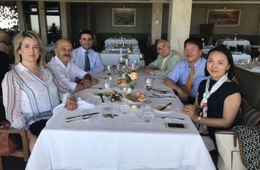 Γεύμα εργασίας για τη διεκδίκηση διοργάνωσης της Japan Week στην Αθήνα