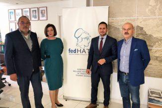 Συνάντηση της FedHATTA με την Ένωση Κεντρώων