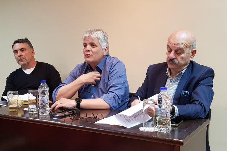 Στη ετήσια γενική συνέλευση των τουριστικών γραφείων Ν. Ρεθύμνης ο κ. Λ. Τσιλίδης