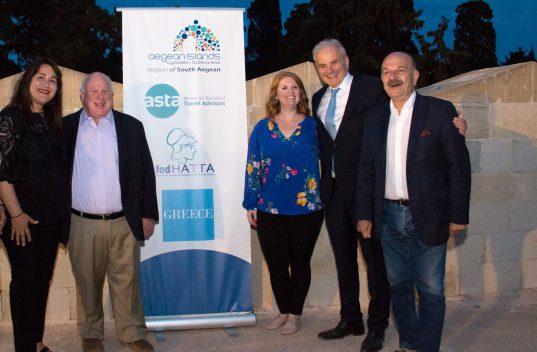 Ενθουσιασμένοι από την Ελλάδα οι Αμερικανοί τουριστικοί πράκτορες της ASTA – Και νέα επίσκεψη στη χώρα μας το Νοέμβριο