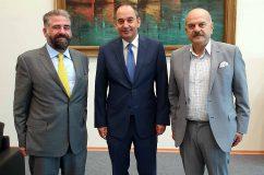 FedHATTA: Συνάντηση εκπροσώπων της FEDHATTA με τον Υπουργό Ναυτιλίας & Νησιωτικής Πολιτικής