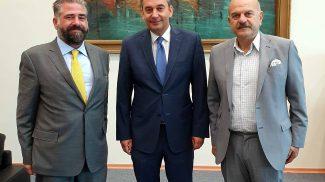 Συνάντηση εκπροσώπων της FEDHATTA με τον Υπουργό Ναυτιλίας & Νησιωτικής Πολιτικής