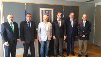 Συνάντηση εφ' όλης της ύλης με την ηγεσία του Υπουργείου Τουρισμού