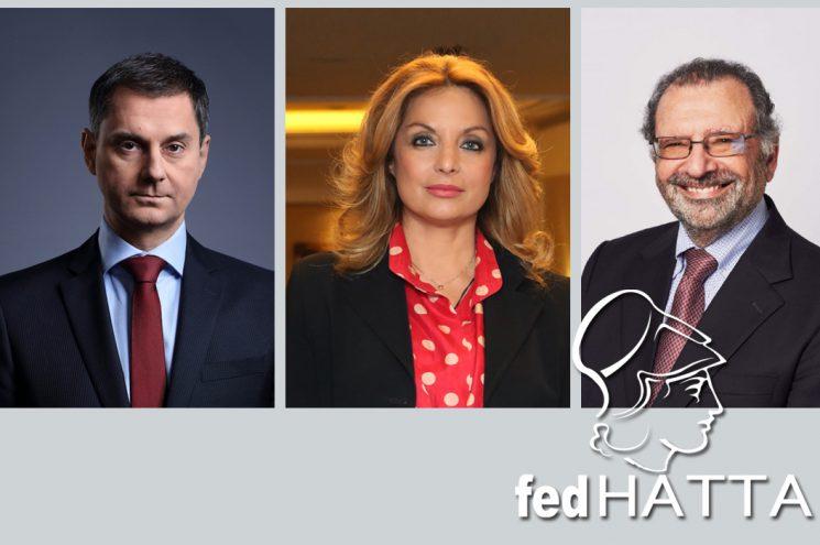 Ενημερωτική συνάντηση με Χ. Θεοχάρη, Α. Γκερέκου και N. Josephides για τη βρετανική αγορά