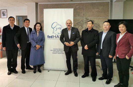 Συνάντηση με εκπροσώπους της επαρχίας Sichuan της Κίνας