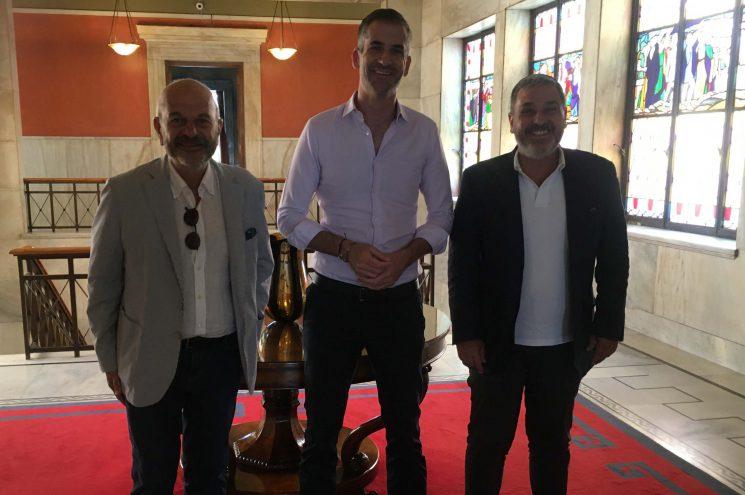 Συνάντηση της FedHATTA με τον Δήμαρχο Αθηναίων, για το κέντρο της πρωτεύουσας