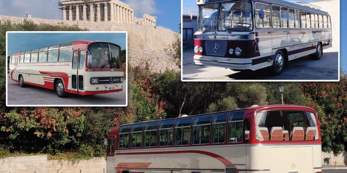 Τα Κλασικά Λεωφορεία στην εργαλειοθήκη του ελληνικού τουρισμού